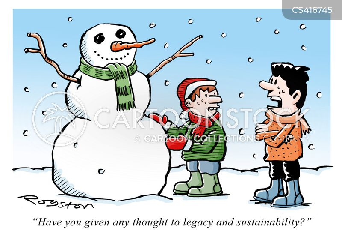 spring thaws cartoon