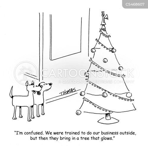 mixed message cartoon