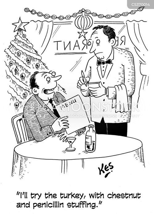 avian influenza cartoon