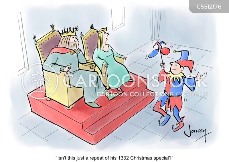 king and queen cartoon