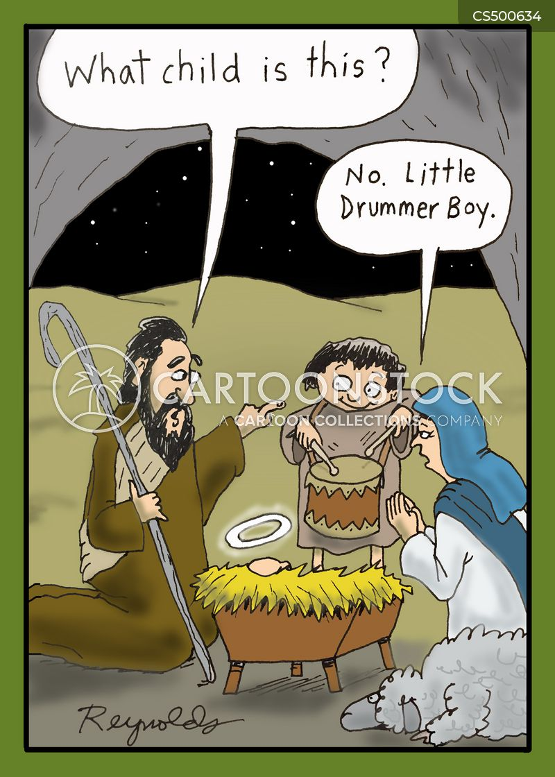 little drummer boy cartoon