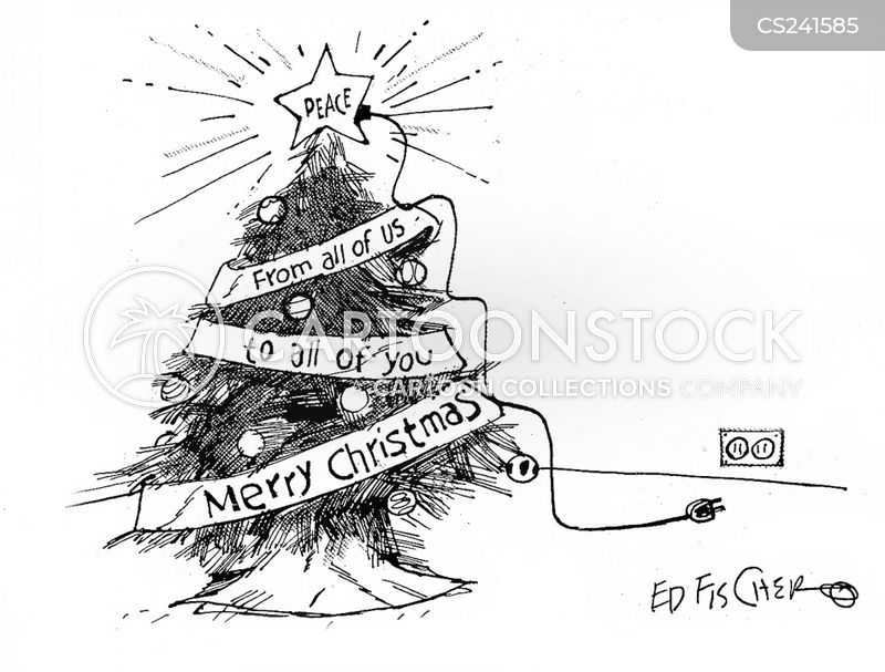 seasonal greetings cartoon