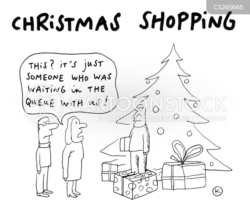 gift-wrap cartoon