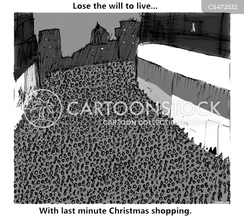 losing the will to live cartoon