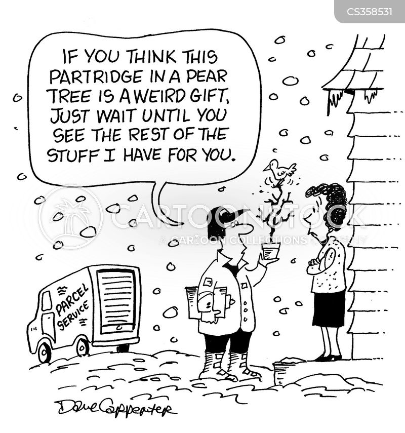 Twelve Days Of Christmas Cartoons and Comics - funny pictures from ...