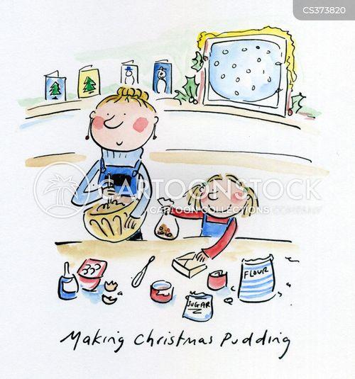 figgy pudding cartoon