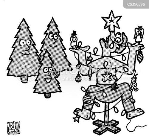 dead tree cartoon
