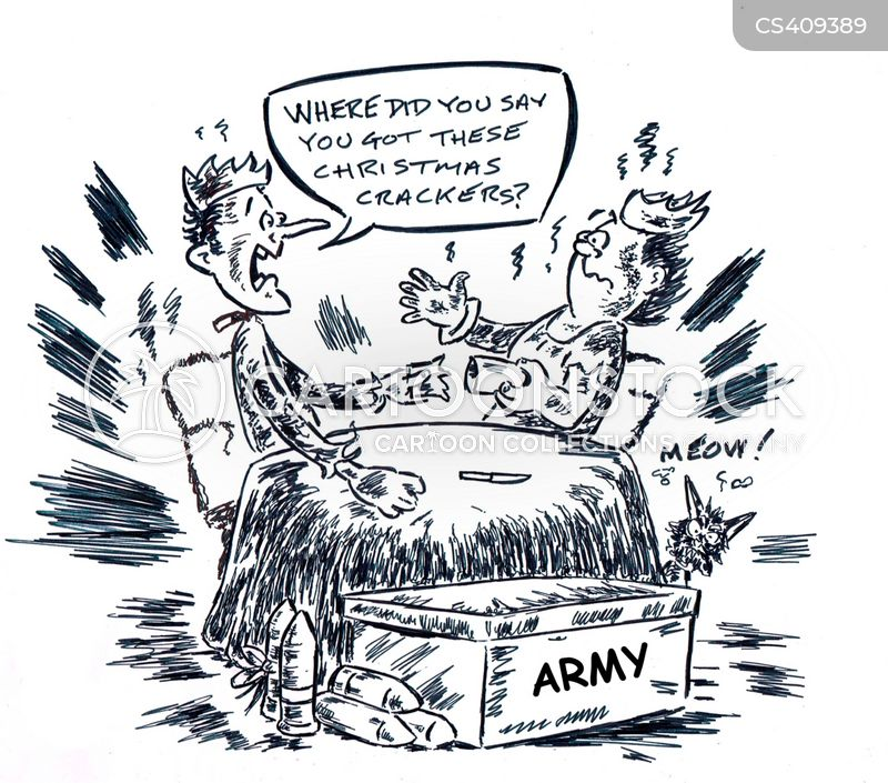 army supply cartoon