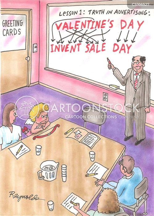 commercialism cartoon