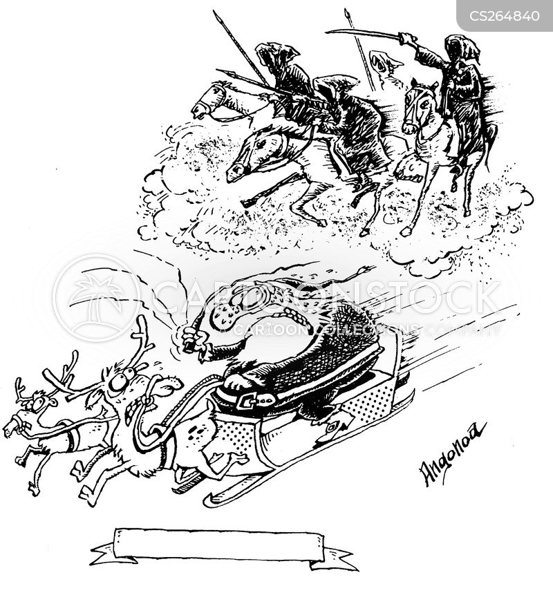 Four Horsemen Of The Apocalypse Cartoons and Comics - funny