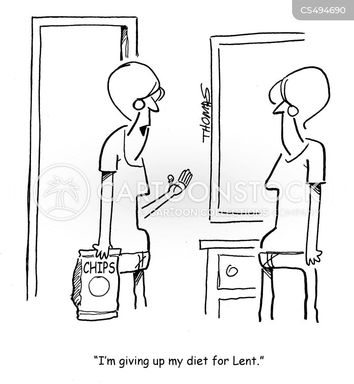 religious fast cartoon