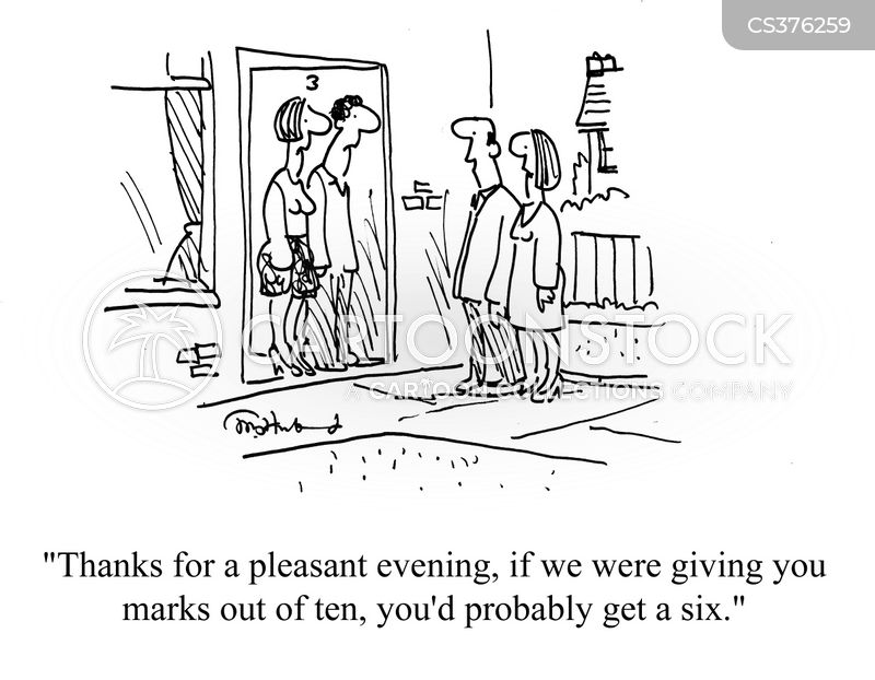 evenings out cartoon