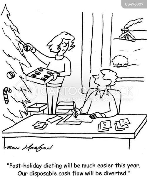 cash-flow cartoon