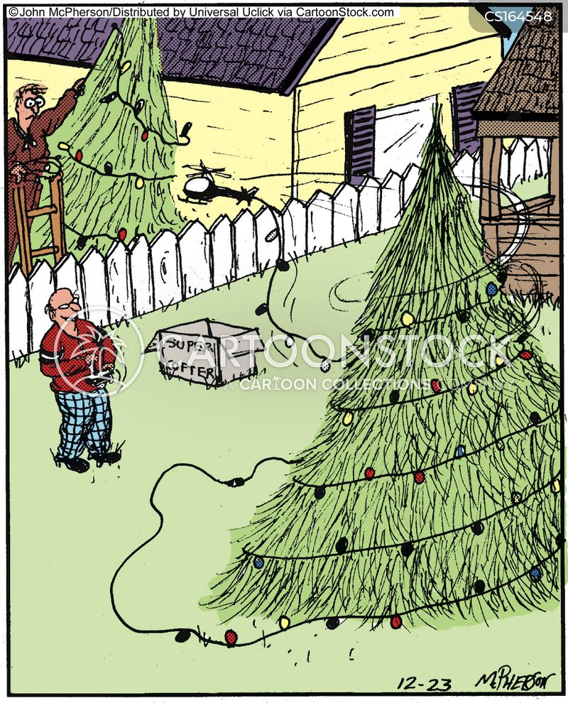 Christmas Decoration Cartoons And Comics