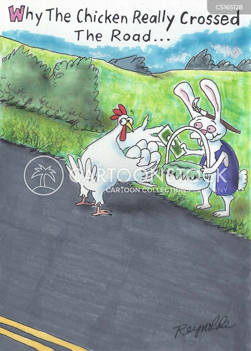easter rabbits cartoon