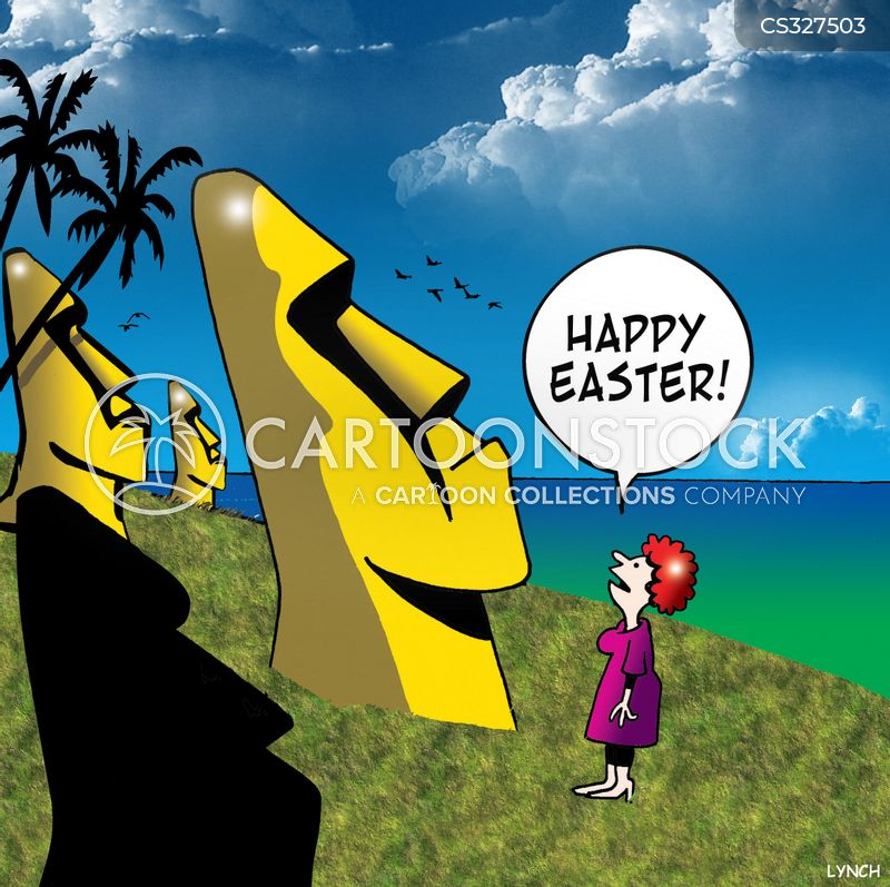 easter times cartoon