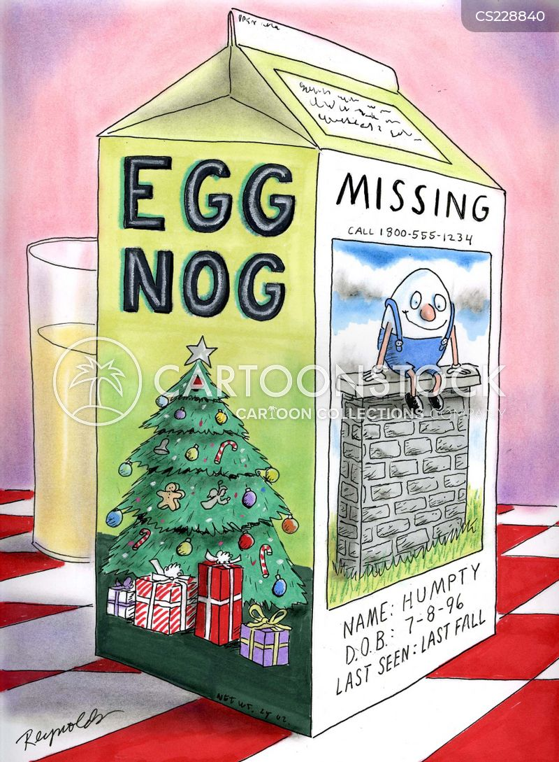 eggnog cartoon
