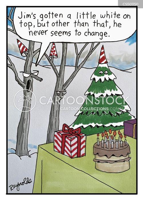 evergreen cartoon