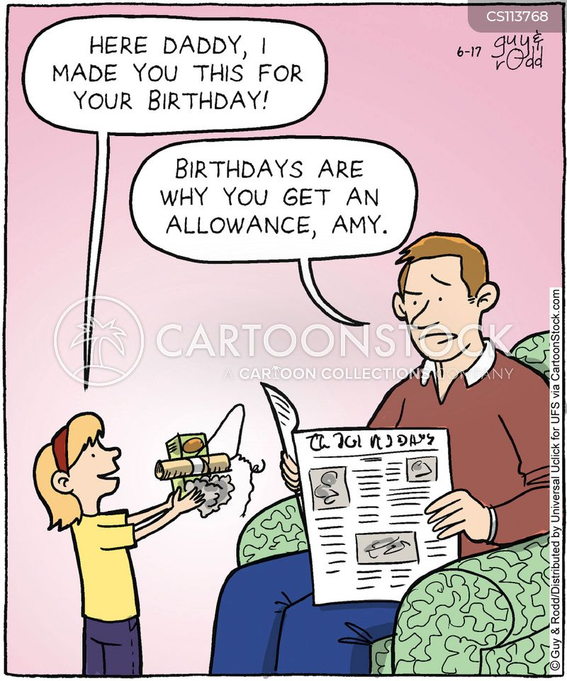 Birthday Gift Cartoons And Comics Funny Pictures From Cartoonstock