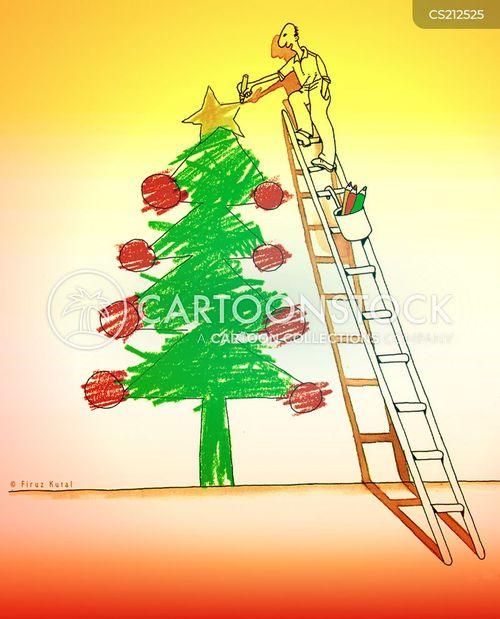 christmas times cartoon