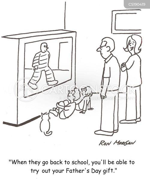 television sets cartoon