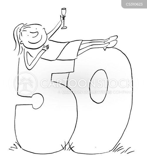fifty cartoon
