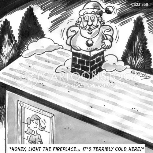 freezing weather cartoon