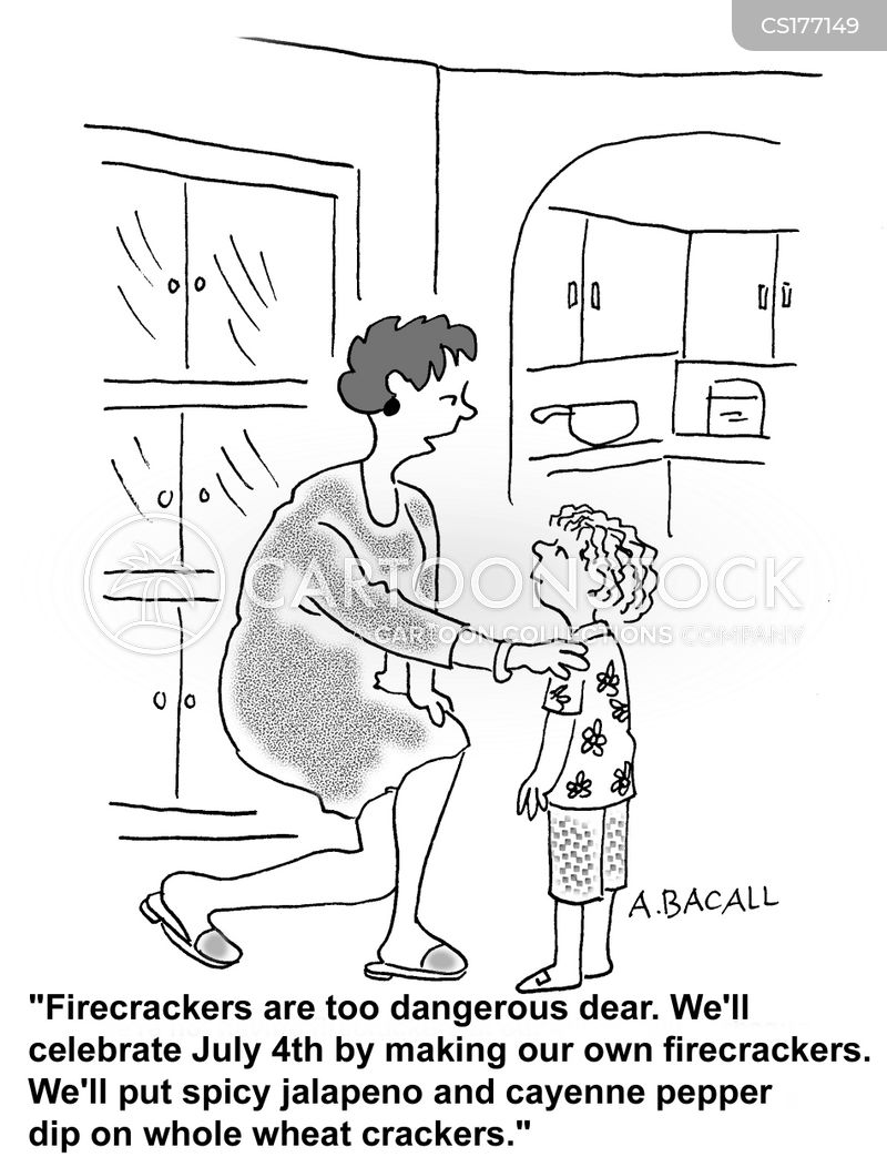 wheat cracker cartoon
