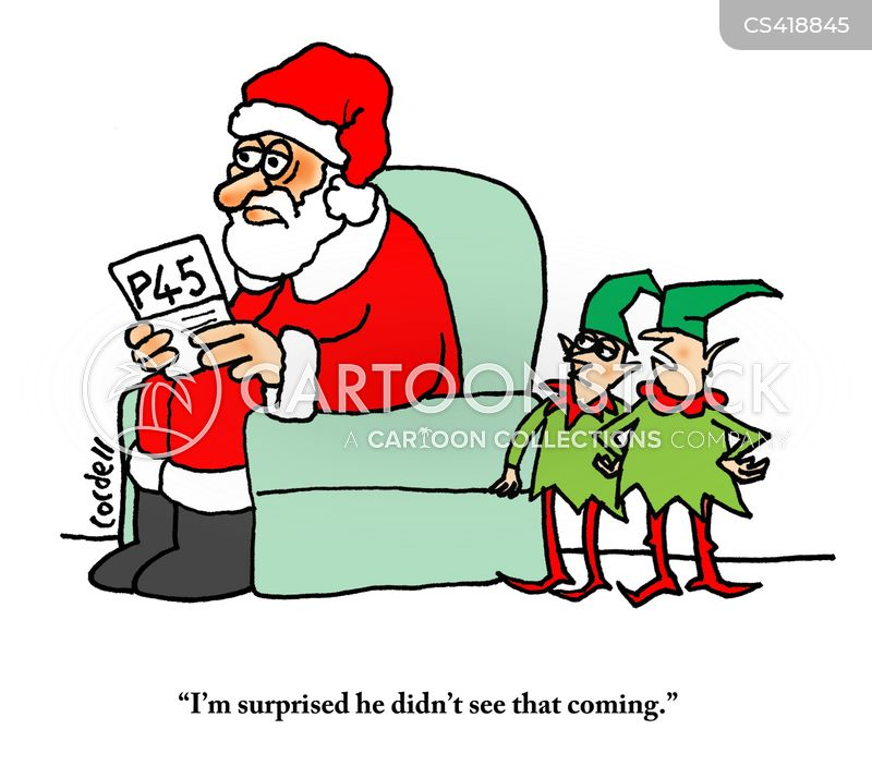 festive work cartoon