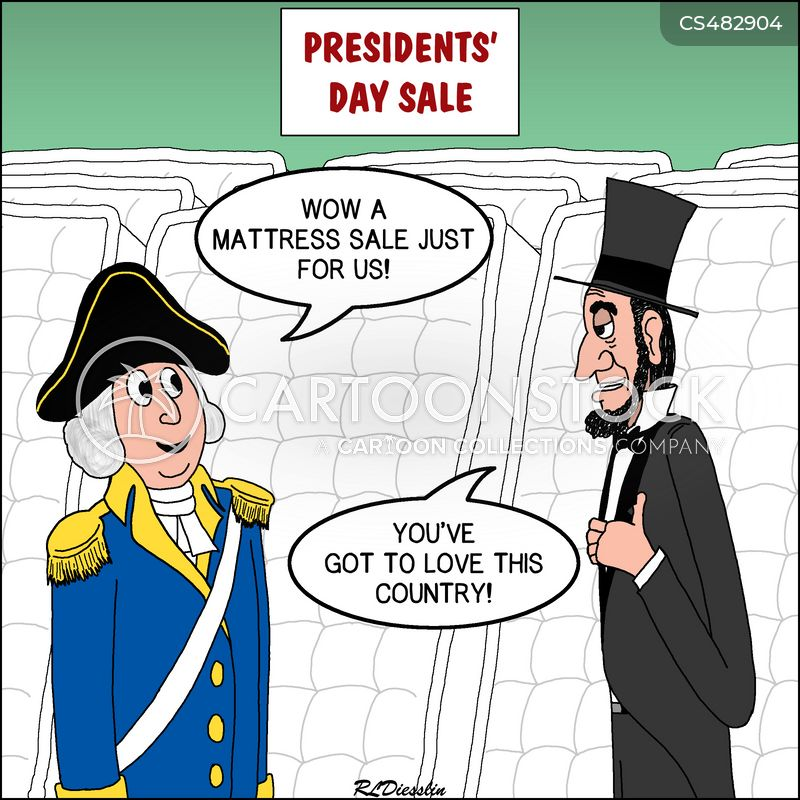 president washington cartoon