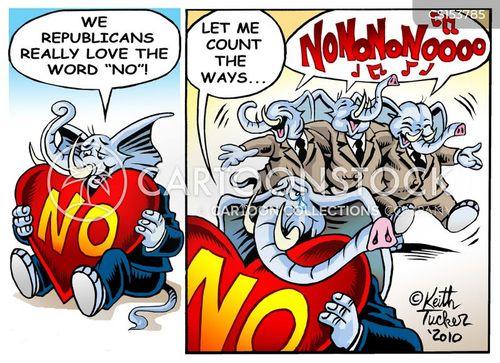 obstructions cartoon
