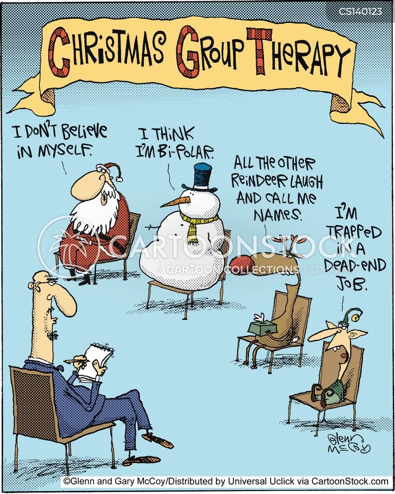group therapy cartoon