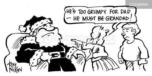 santa costume cartoon
