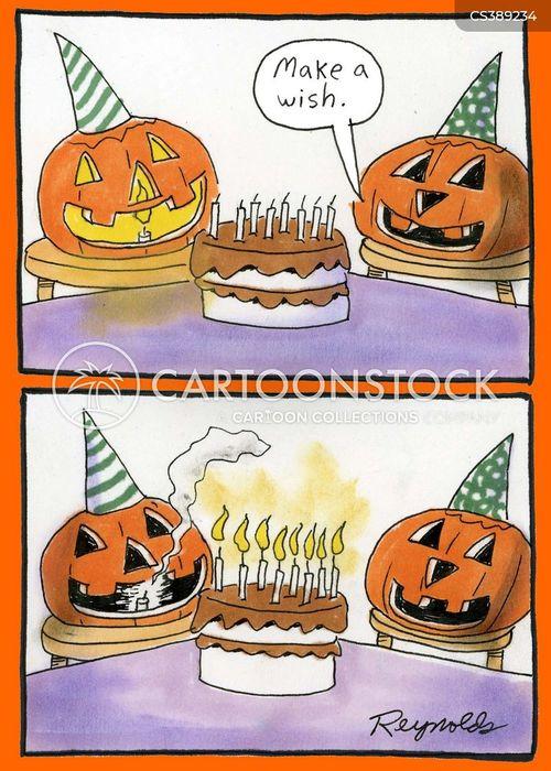 jack o lanterns cartoon