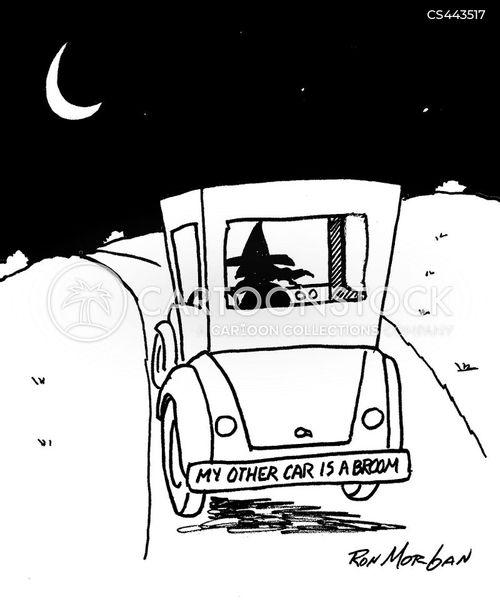 bumper-stickers cartoon