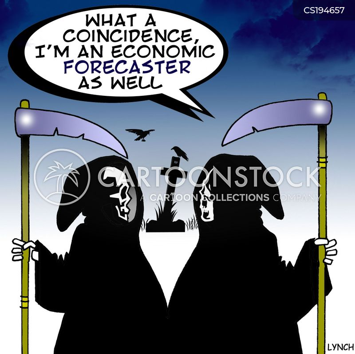 economic forecasts cartoon