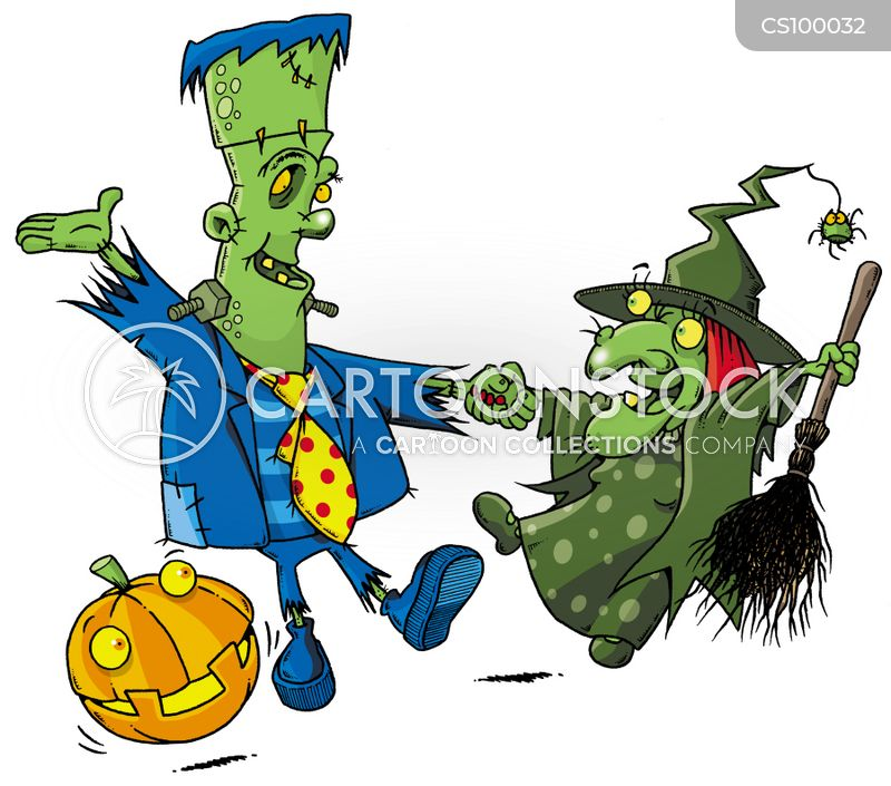scarey cartoon