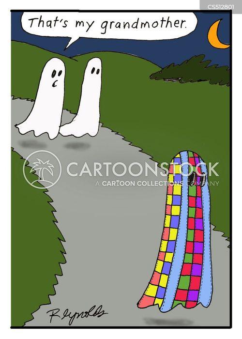 quilts cartoon