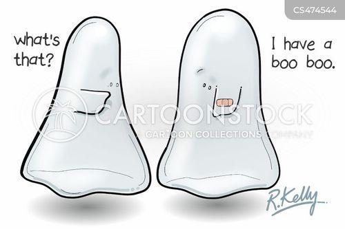 ghost costumes cartoon