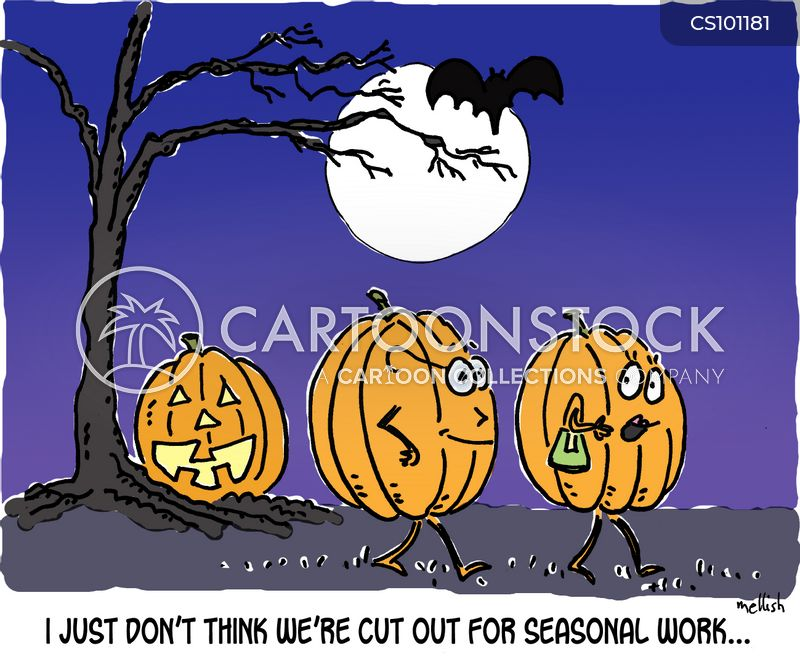 seasonal work cartoon