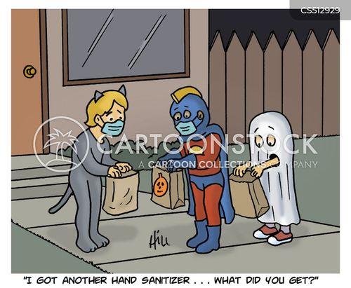 sanitizer cartoon