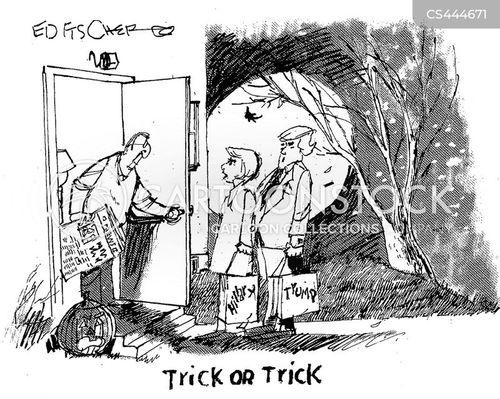 difficult choice cartoon
