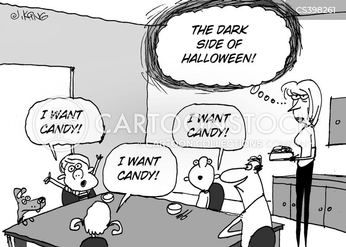 dark side cartoon