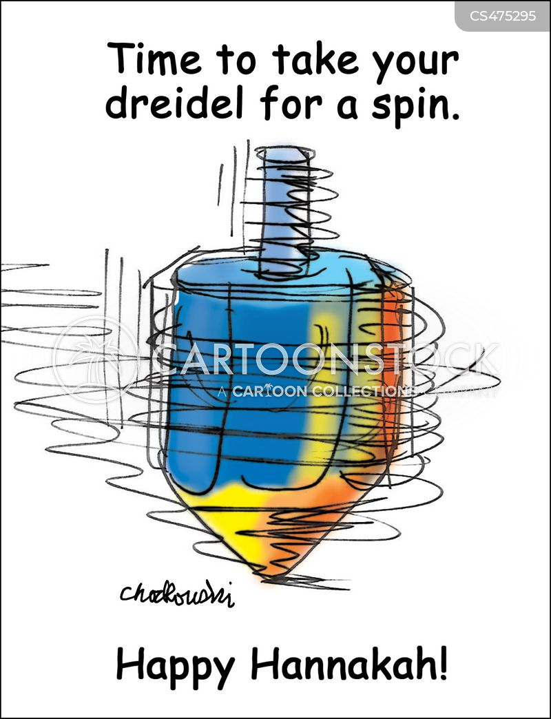 dreidel cartoon