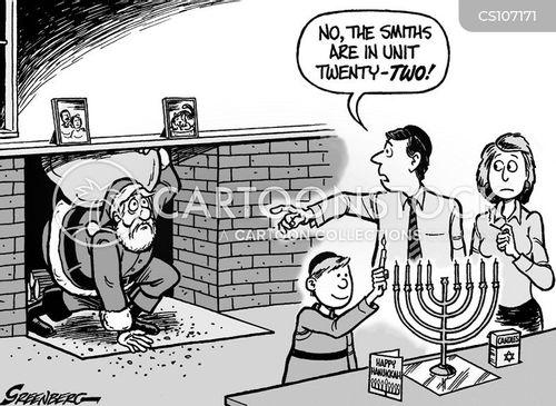 religious celebrations cartoon