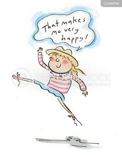 joyfulness cartoon