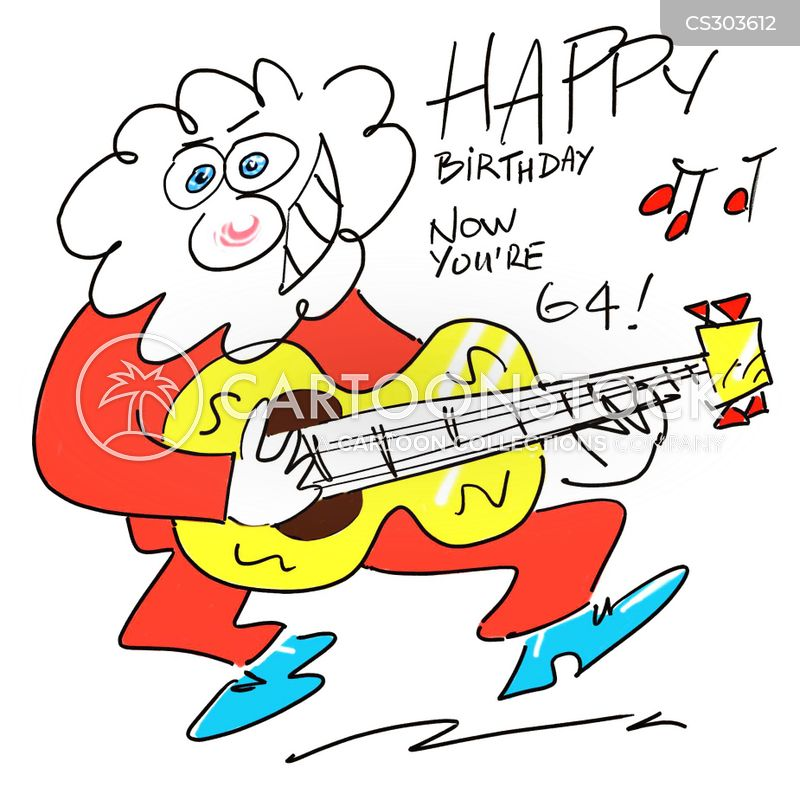 Birthday Songs Cartoons And Comics