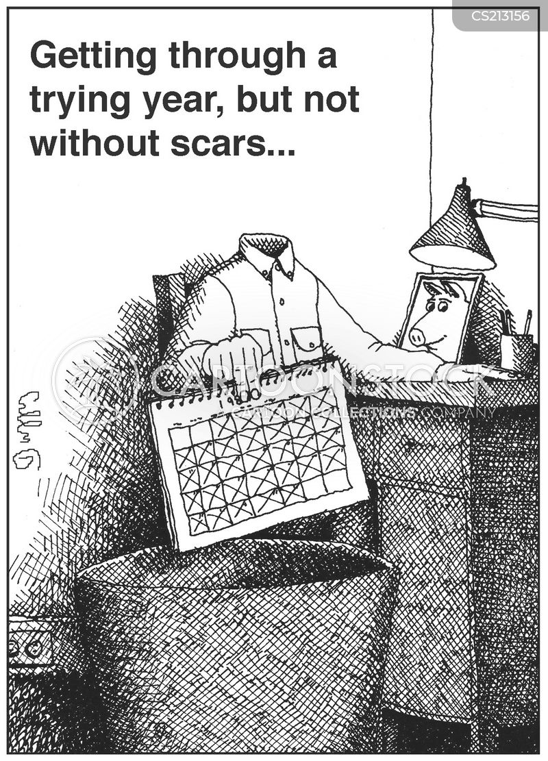 difficult times cartoon