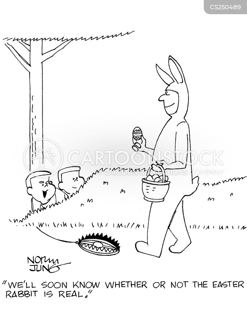 easter day cartoon