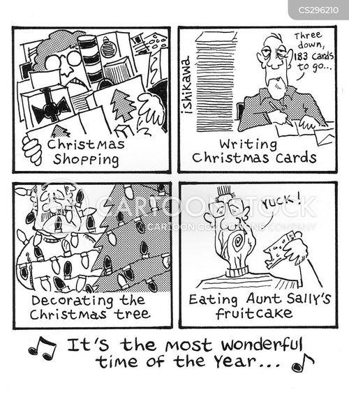 festive spirits cartoon